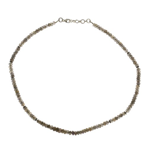 Labradorite Gemstone Necklace Healing Jewelry Indian Handmade