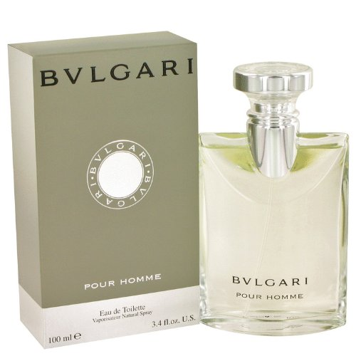 Bvlgari (Bulgari) By Bvlgari Eau De Toilette Spray 3.4 Oz / 100 Ml For Men + Bowling Green By Geoffrey Beene After Shave Lotion (Unboxed) 2 Oz For Men