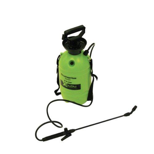 Xclou 346554 Gartenspritze mit Überdruckventil und Tragegurt, Inhalt: 5.0 Liter