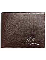 Woodland Tan Wallet For Men's Dark Brown