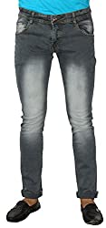 Aruze Men's Regular Fit Jeans (ARUMJ104-GREY-32, Grey, 32)