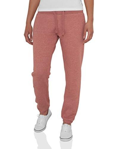 Urban Classics Pantalone Felpa Rosa S