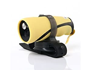 Esung SC1012 Diving DVR Video Recording Camera with Flashlight (Yellow)