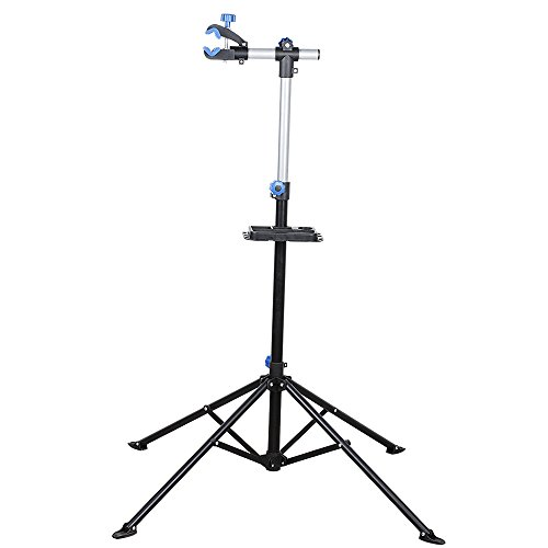 flexzion-bicycle-repair-stand-pro-adjustable-41-to-75-with-telescopic-arm-foldable-cycle-bike-rack-w