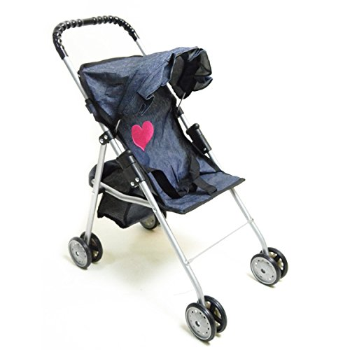 Mommy Amp Me 2 In 1 Deluxe Doll Stroller Extra Tall 32
