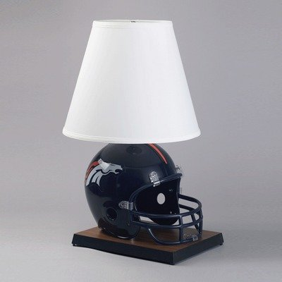Denver Broncos on Denver Broncos Helmet Lamp  Broncos Helmet Lamps  Denver Broncos