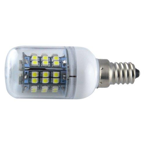 Thg 4Pcs E14 360 Degree 48 Smd 3528 Led 280Lm Cool White Ultra Bright Corn Light Lamp Bulb 6000-6500K Equivalent Halogen 40W front-671155