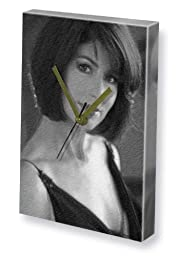 DANA DELANY - Canvas Clock (LARGE A3 - Signed by the Artist) #js001