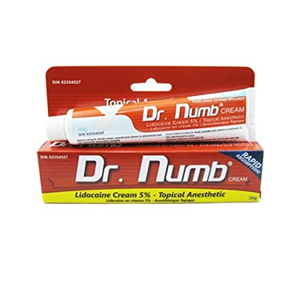how long does lidocaine take to numb