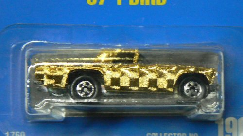 Hot Wheels 57 T-Bird 190 Gleam Team Blue Card 1991 - 1