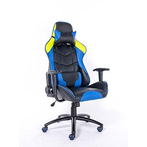 Brostuhl-Kunstleder-ergonomisch-aus-Leder-Optik-Brosessel-Gaming-Chair-Gamer-Stuhl-Chefsessel