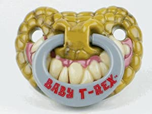 Billy Bob Baby T-Rex Pacifier