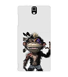 EPICCASE Monkey Rap Mobile Back Case Cover For Infocus M330 (Designer Case)