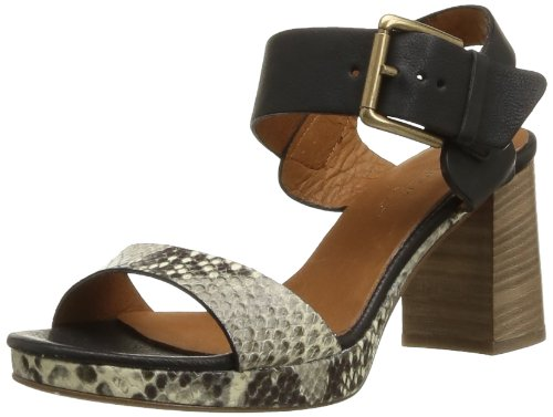 Latitude Femme Women's 23009 Fashion Sandals Brown Marron (Pitone Roccia) 38