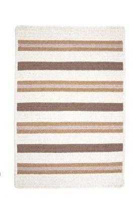 Allure Polypropylene Braided Rug, 12-Feet by 15-Feet, Haystack