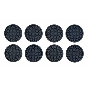 OXO Good Grips Set Of 8 Coasters Black