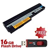 Battpit Recambio de Bateria para Ordenador Portátil Lenovo IdeaPad U160 (4400 mah) Con memoria USB de 16GB GRATUITA