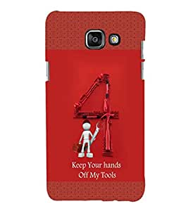 EPICCASE My Toolbox Mobile Back Case Cover For Samsung Galaxy A3 (Designer Case)