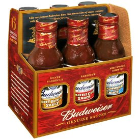 Budweiser Genuine Sauces Gift Set, 6 Pack from Vita Food Products