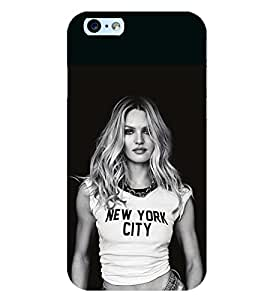 D KAUR Attitude Girl Back Case Cover for Apple iPhone 6::Apple iPhone 6S