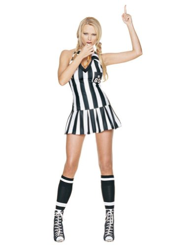 [Referee Small-Medium] (Leg Avenue Womens Referee Costume)