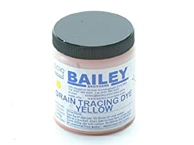 Bailey 3591 Drain Tracing Dye - Yellow