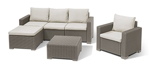 Allibert-Lounge-Set-Moorea-beige-4-teilig
