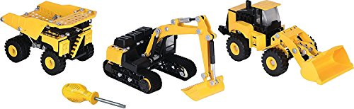 Toy State Caterpillar CAT Apprentice Ultimate Machine Maker Dump Truck with Wheel Loader and Excavator Construction Building Vehicles (Building Vehicles compare prices)