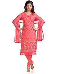 Party Wear Dress Materials For Girls