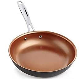 NuWave 10.5 Inch Hard Anodized Aluminum Skillet Fry For Use With PIC