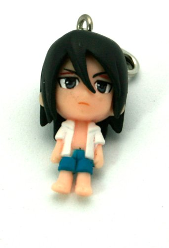 "Bleach1"" Mini-Figure Zipper Pull (Japanese Imported) - Byakuya"