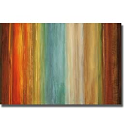 Artistic Home Gallery 2436527S Wavelength I By Max Hansen Premium Stretched Canvas Wall Art