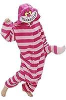 Cartoon Kigurumi Pajamas Anime Cosplay Costume Homewear Cheshire Cat