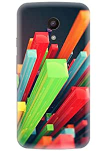 Spygen Premium Quality Designer Printed 3D Lightweight Slim Matte Finish Hard Case Back Cover For Motorola Moto G2