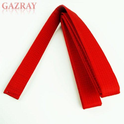 Martial Arts Taekwondo Karate Judo Rank Belt Size 000-8, Red