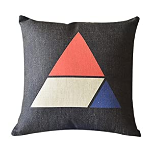 Rectangular Throw Pillow Covers : Amazon.com - MOMENTS Modern Rectangular Cotton/Linen Decorative Pillow Cover