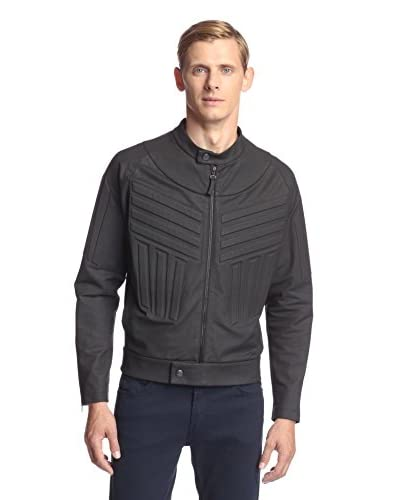 Vivienne Westwood Men's Coated Knit Racer Jacket