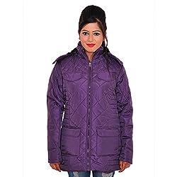 Be-Beu Full Sleeve Striped Women's Jacket (X-Large)
