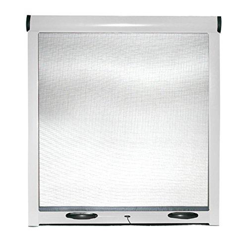 Zanzariera a rullo finestre porte struttura alluminio casa 100x170cm BIANCO