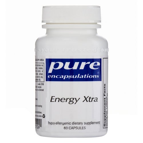 Pure Encapsulations Energy Xtra 60 Vcaps
