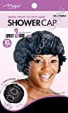 """Magic Collection Water Proof Elastic Band Shower Cap XL 21"""" No 2160"""