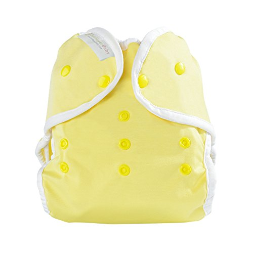 Sunflowerbaby Newborn Yellow Diaper Cover Fit Babies 6-15Lbs, Yellow front-108659