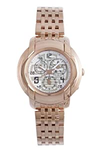 RSW Men's 4130.PP.PP.25.00 Volante Rose-Gold PVD Stainless-Steel White Chronograph Date Watch