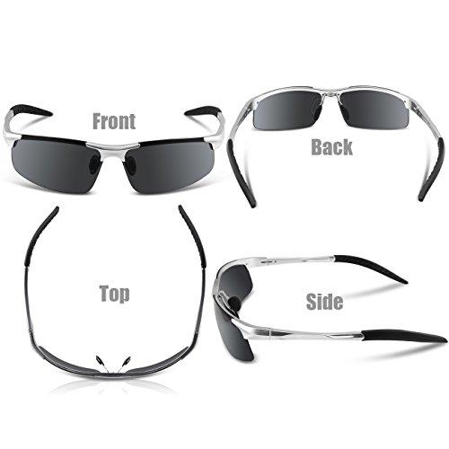 COSVER Mens Sports Style Polarized Sunglasses for Men ...