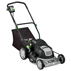 Earthwise 60120 20-Inch 24-Volt Cordless Electric Lawn Mower from Earthwise
