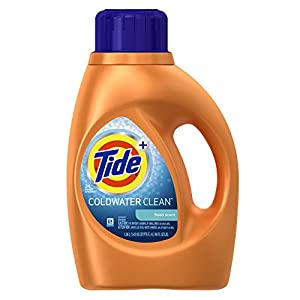 Tide Coldwater Clean Fresh Scent Liquid Laundry Detergent, 46 Ounce