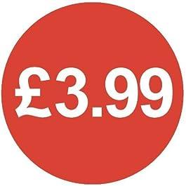 Audioprint Lot Petit 13mm £ 3,99Prix Stickers-500Pack