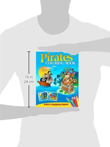 Pirates Coloring Book: Volume 1 (Kidd's Coloring Books)