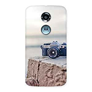 Cute Vintage Camera Multicolor Back Case Cover for Moto X 2nd Gen