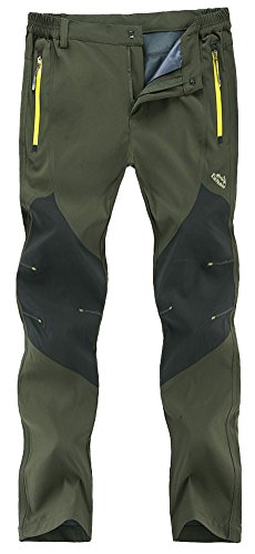 Singbring Men's Outdoor Lightweight Waterproof Hiking Mountain Pants